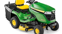 Lawn tractor's just the thing for spring