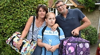 Boy, 11, has reasons to be cheerful after cancer treatment