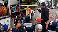 Firefighters visit pre-prep pupils