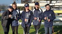 Henley's junior quad crew triumphs at Burway Head