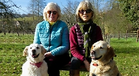 Women to hold fund-raiser for rescue charity that found golden retrievers