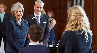 PM learns about schools partnership
