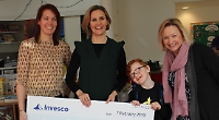 Staff raise £184,000 for hospice charity