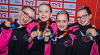 Swimmers secure bronze at national championships