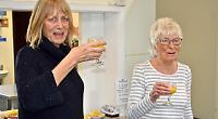 Hairdresser to the elderly hangs up scissors... aged 76