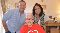 Woman, 80, 'cycles' 40 miles in her wheelchair for heart research charity