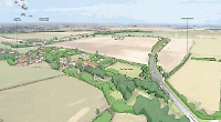 Bypass to mitigate effect of 3,000 homes at airfield
