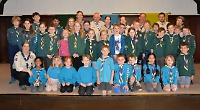 Boys receive chief scout's bronze award for six badges