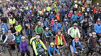 Hundreds ride 13th On Your Bike