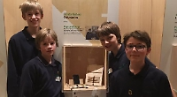 Students praised for ingenuity in design contest
