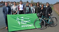 Warm welcome expected for arrival of women's bike race
