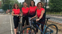 Four 'Wildcats' win novice event at charity triathlon