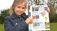 Mother abused online for allowing daughter, 10, to protest