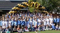 Headteacher celebrates 50th birthday in style