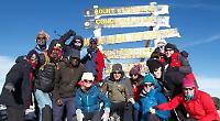 Volunteers raise £70,000 by climbing Mt Kilimanjaro