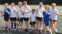 Shiplake pupils win primary schools tennis contest