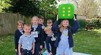 Pupils learn that air pollution is no game