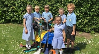 Pupils earn £650 reward for helping the environment