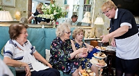 Tea and Prosecco at care village open day