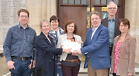 MP accepts petition from school funding campaigners