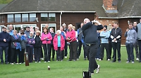 Golfers raise £5,600 for two charities during past year