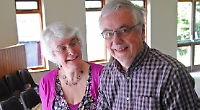 'Caring' church couple honoured for 35 years of service
