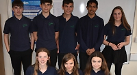 Pupils win enterprise award with recycled crisp packets