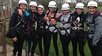 Students enjoy visit to activity centre