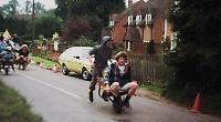 Wild wheelbarrow race returns after 30 years