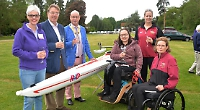 Disabled rowers given new scull to mark 10th regatta