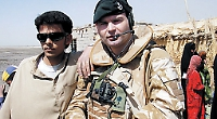 Soldier 'amazed' at award of MBE