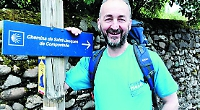 Head decides to quit after walking old pilgrims' trail