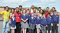 Group from Madagascar visit school