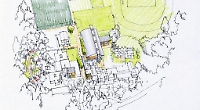 Artists impression of the new Gillotts school buildings