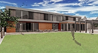 Artists impression of the new Queen Annes sixth form