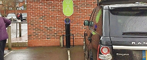 Should electric car drivers be allowed free parking?