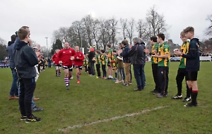 VIDEO: Tributes paid after rugby player's death