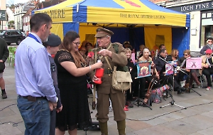 Musical launch for Poppy Appeal