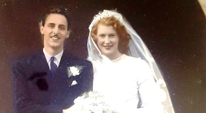 70th Wedding Anniversary.Couple Celebrate 70th Wedding Anniversary At Care Home Henley Standard