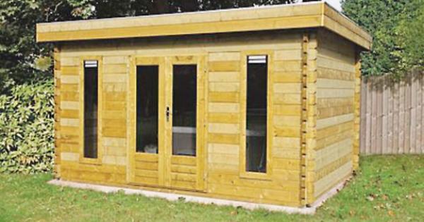 Log cabins summerhouses garden offices and more henley for Henley garden office