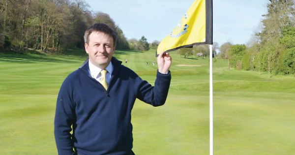 Golf club manager follows in father's footsteps on fairway
