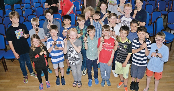 Promising youngsters pick up player awards at town hall ...