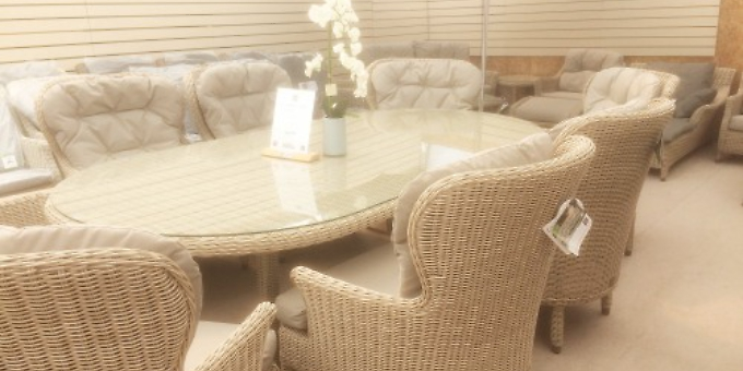 choice of garden furniture for all tastes and budgets