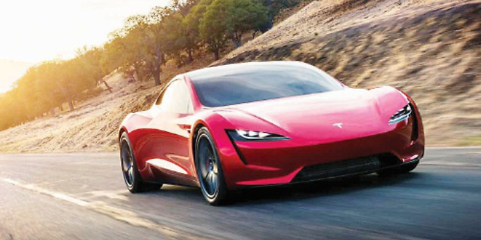 Elon Musk Wants To Send His Red Sports Car To Mars